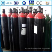 Nahtloser Stahl-Wasserstoff-Zylinder 40L (ISO9809-3)