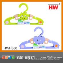 Soem-Karikatur-Tierplastik Baby-Kleiderbügel