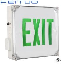 Sortie de signe, signe de sortie de secours, sortie de LED