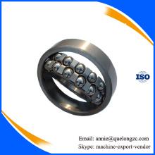 Aço cromado Gcr15 Rolamento de esferas Self-Aligning material da fábrica do rolamento (1208)