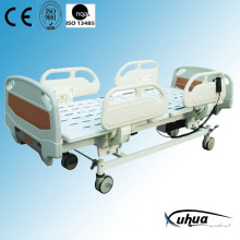 Hospital Furniture: Motorized Three Functions Medical ICU Bed (XH-7)