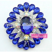 wedding costume accessories crystal rhinestone flower brooch