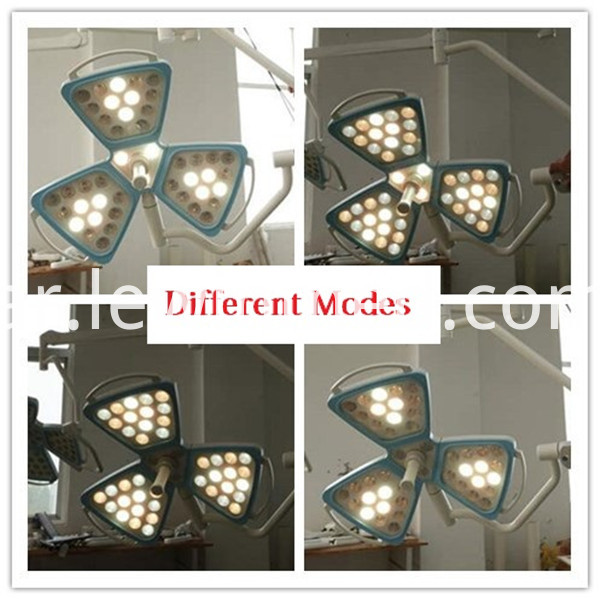 Four model petal surgery light
