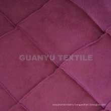 Weft Suede Polyester Furniture Decorative Fabric