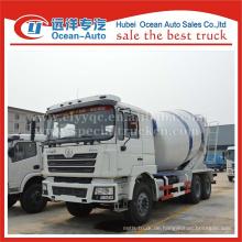 SHACMAN F3000 Betonmischer LKW, 12cbm gebrauchter Betonmischer LKW, 6x4 Betonmischer LKW zum Verkauf