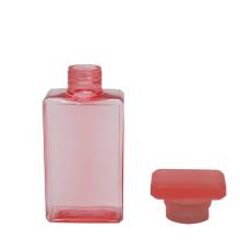 Bouteille de parfum carrée en plastique 30 ml