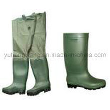 Rubber Wellington Rain Boots, Work Shoes