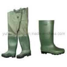 Botas de chuva de borracha Wellington, sapatos de trabalho