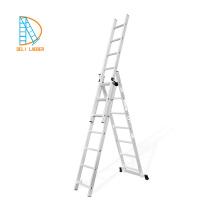 алюминиевая тройная удлинительная лестница yongkang