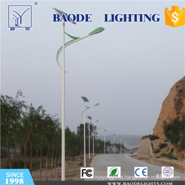 Luz da estrada do diodo emissor de luz de Soalr do pólo do braço 9m / 70W única (BDTY970S)