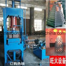 Honeycomb en polvo de carbón briqueta que forma la máquina