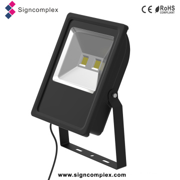 China 2016 New Energy Saving 50% Ulthin Slim COB 100 Watt LED Flood Light