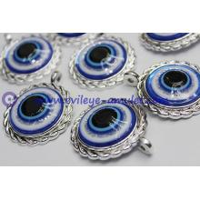 Turkish evil eye charm decoration / evil eye necklace pendant accessories