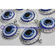 Turkish evil eye charm decoration / evil eye necklace pendant accessories