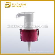Pompe à lotion en plastique / pompe à crème 20 mm / distributeur de pompe à revêtement UV