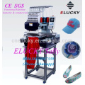 Factory price single head embroidery machine cap flat embroidery machine