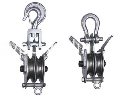 Double-side opened Lifting Pulley