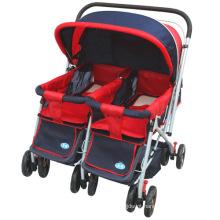 Carrinho de bebê gêmeo Highst-Qualitied Newst Design