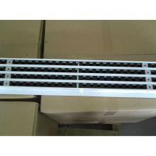 grelha de ventilação de ar grade linear, grelhas de ventilação de ar em alumínio, grelha de retorno