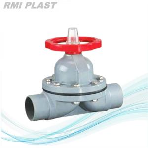PVC Diaphragm Valve Socket End DIN PN10