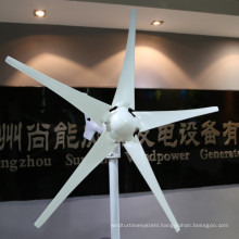 400W 12V/24V Good Quality Horizontal Wind Turbine