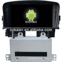 4.2 Version Android System Auto DVD-Player für Chevrolet Cruze mit GPS, Bluetooth, 3G, iPod, Spiele, Dual Zone, Lenkradsteuerung
