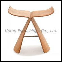 Réplica de fezes de borboleta de madeira compensada Sori Yanagi (SP-BC261)