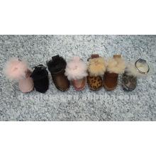 Llavero promocional de zapatos de nieve