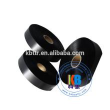 Etiqueta de tecido de cetim impresso single side 100% polyester satin ribbon
