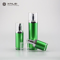 Round shape PMMA cosmetic Plastic Lotion Bottles