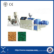 Ligne de machine à l'extrudeuse en tuyau en plastique PVC