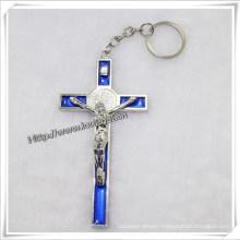 Big Cross Key Chain, Promotion Keychain, Good Quality with Best Price (IO-CK066)