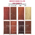 Dessins en MDF à une seule porte en bois