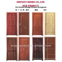 Projetos de porta simples de madeira MDF