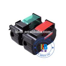 Máquina de franquiar postal B700 fluorescente cartucho de tinta vermelha impressora compatível