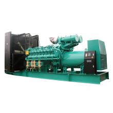 60Hz 1200rpm Gerador de Gás Natural Combustível Diesel 1365kw 1700kVA