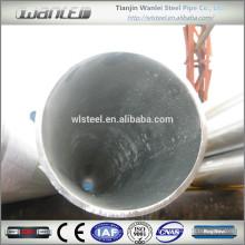 Fabricant de tuyaux en acier galvanisé Chine