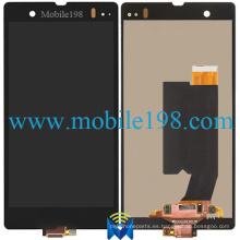 Pantalla LCD para Sony Xperia Z L36h Teléfono móvil