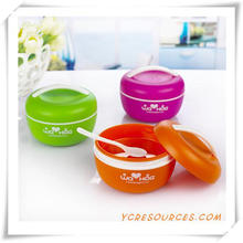 Hot Sale Plastic Lunch Box for Promotional Gifts (HA62010)