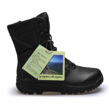 Botas militares de las nuevas de la manera de la policía negra botas militares (31008)