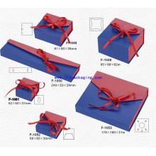 Boîte à bijoux pliable en carton