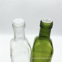 Customization Square Cooking Oil Olive Oil Glass Bottle with Lid