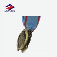Prix de l'usine de design personnel, qualité, qualité, décodage en zinc, médaille