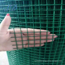 1x1 Pvc Coated 1/2' Mesh Hole Galvanized Welded Wire Mesh