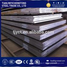 ASTM A36 / A283-C / A516 grade55,60,65 / A572 Gr 50/60/70 haute résistance plaque d'acier