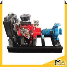 Diesel Movable Zentrifugalsaugpumpe für sauberes Wasser