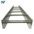 Escada galvanizada favorável ao meio ambiente por atacado do cabo da folha de metal para a bandeja