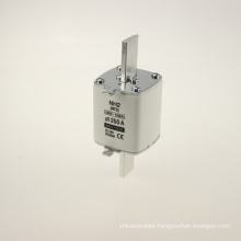 Yumo Nh2 250A Filler Closed Tube Type HRC Low Voltage Fuse