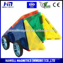 Brinquedo magnético para a educação / construção de plástico brinquedo varas