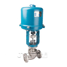 TS oil  gas  steam  flow control  electric regulating valve